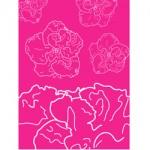 pink violets g028